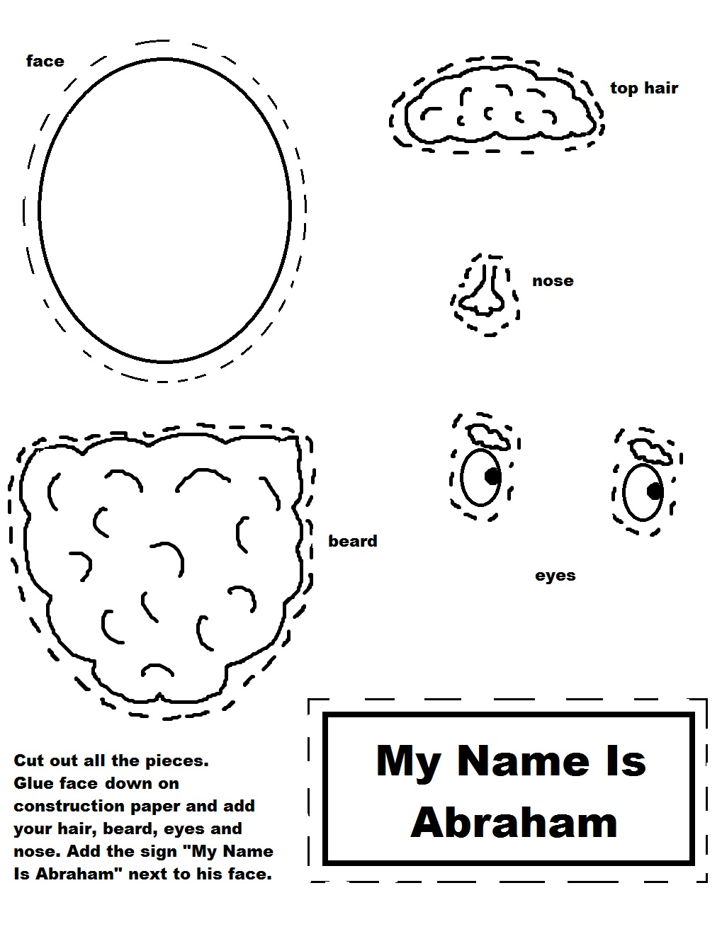 Abraham Sunday School Lessons Preschool Kids Bible Lesson
